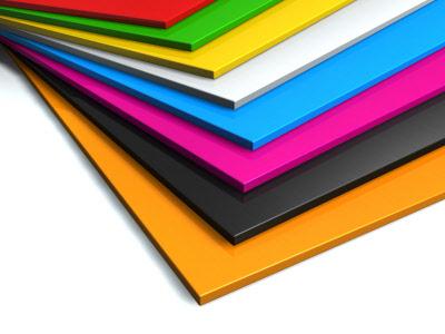 Επιλογή χρώματος plexiglas